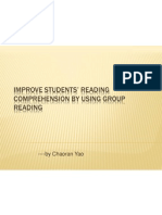 improve students reading comprehension by using group