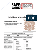 Job Hazrd Analysis