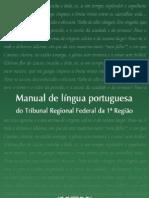 Manual Lingua Portuguesa TRF1