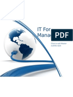 IT for Managers II
