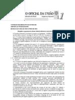 RESOLUÇÃO PAGAMENTO PIS PASEP 2013