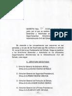 Directores Generales y Asimilados