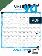 Power 90 Calendar 3 Step