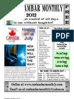 Costambar Monthly July 2012