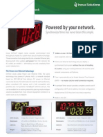 Brochure OnTime Clock