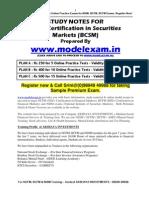 BSE CERTIFICATION IN SECURITIES MARKETS. MOCK TEST AT WWW.MODELEXAM.IN