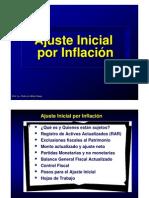 Ajuste Inicial Por Inflacion