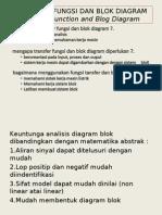 Fungsi Transfer Dan Blok Diagram