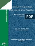 Manual de Evaluación Psicopedagógica