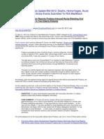Pradaxa Side Effects Update Mid-2012
