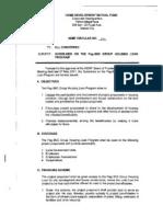 Circular 293 Guidelines on Pag-Ibig Group Housing Loan Program