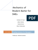 Mechanics of Modern Barter for SME1-7