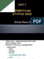 Penentuan Status Gizi