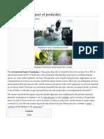 Environmental Impact of Pesticides
