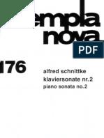 Schnittke - Pianosonate 2