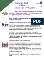 Inclusion North Bulletin 20 v2