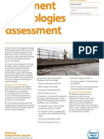 Treatment technologies assessment - leaflet