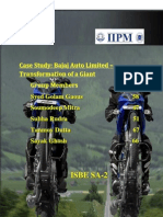 Case Study of Bajaj Auto Ltd,