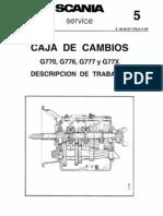 Caja Cambios G 777