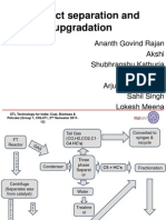 Process Separation and Upgradation