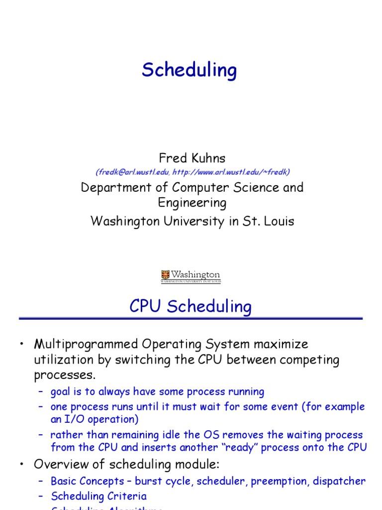 Sched | Scheduling (Computing) | Thread (Computing)