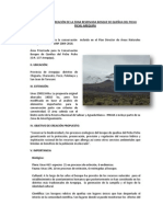 PROPUESTA DE CREACIÓN DE LA ZONA RESERVADA BOSQUE DE QUEÑUA DEL PICHU PICHU