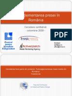 Autoreglementarea Presei in Romania