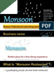 Sample Business plan Presentation of Resturant