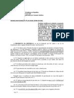 Medida Provisoria n 574