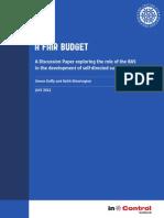 A Fair Budget