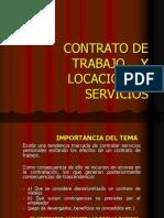 Contratacion Laboral y Locacion de Servicio