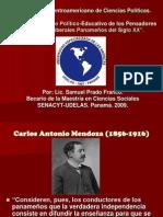 Ideario Político-Educativo de los Pensadores y Políticos Liberales Panameños del Siglo XX.