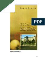 Z. Slavic ''Pisanje Zaborava''
