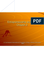Entrepreneurship Studies Chapter 2 1232805036237918 1