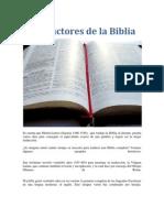 Traductores de La Biblia