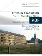Cities in Transition Stakeholder Briefing Materials FINAL