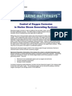 Waterways WW-1 Re Control of Oxygen Corrosion