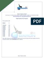 High Quality VCS Carbon Credits
