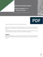 Ds 132 Reglamento de Seguridad Minera