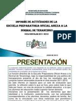 EPOANT Informe 2011-2012