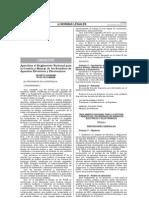 Reglamento Nacional para la Gestión y Manejo de los Residuos de Aparatos Eléctricos y Electrónicos