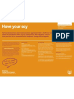 Have your say - exhibition board