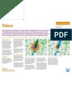 Odour - exhibition board