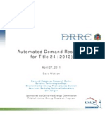 Title24 Automated Demand Response