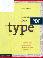 [Ellen Lupton] Thinking with type