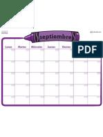 1540 Calendarios Planeadores Sep