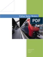 Value Set - Notes
