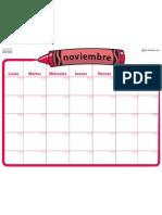1542 Calendarios Planeadores Nov