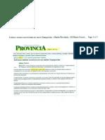 """""""Estiman menor crecimiento en sector Franquicias"""" 14 de Septiembre de 2011-Provincia"""