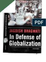 Bhagwati in Defense of Globalization